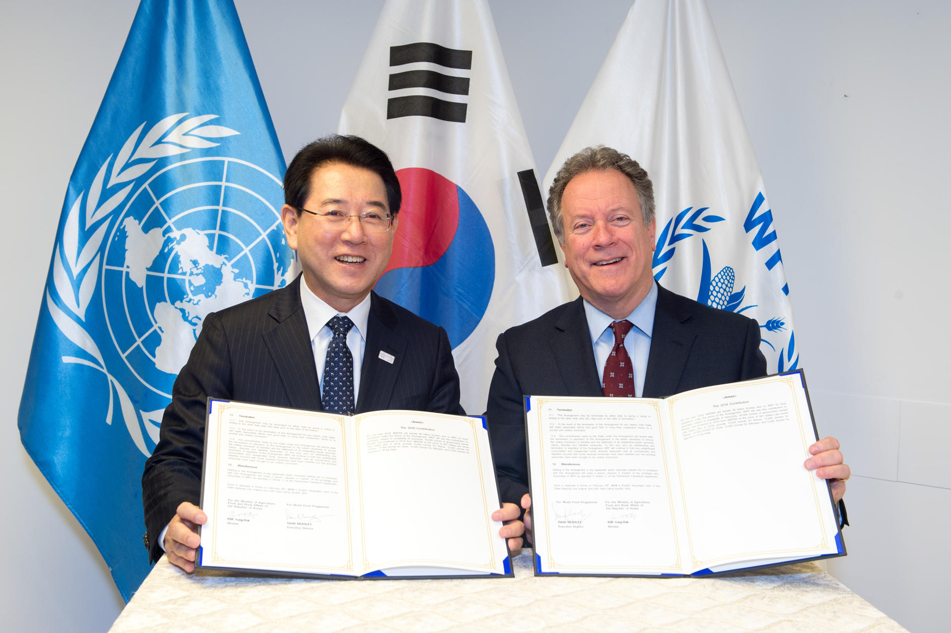 From recipient to donor: Republic of Korea makes its largest ever contribution to WFP