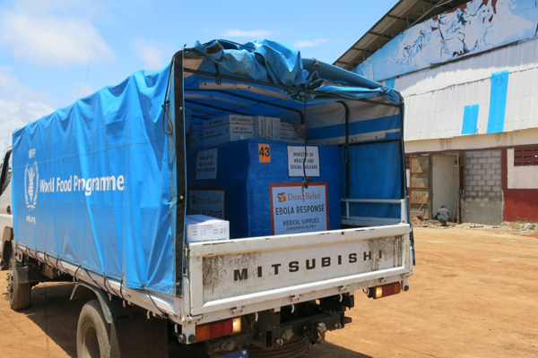 WFP Gears Up Global Logistics And Food Assistance By Land, Sea And Air For The Fight Against Ebola