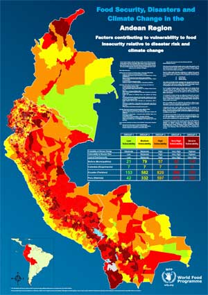 New Atlas Maps Out Areas Vulnerable To Climate Change, Disasters And Food Insecurity In The Andean Region