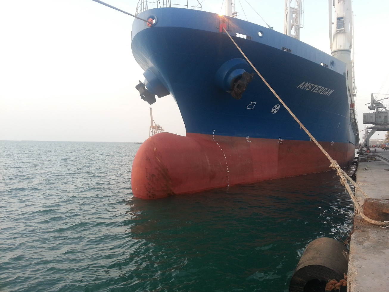 Wfp Chartered Ship Docks In Yemen With Fuel For Humanitarian