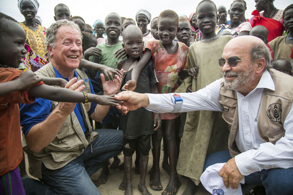 Heads Of UN Food Agencies Visit Famine-Stricken South Sudan