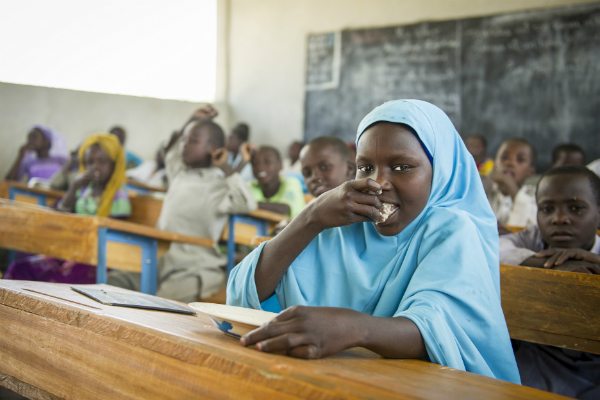 Crisis in School Meals Financing for West & Central Africa Puts Young Generation At Risk, WFP Warns