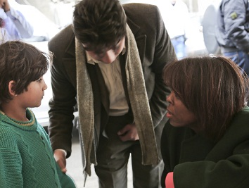 World Food Programme Executive Director Meets Displaced Families In Syria