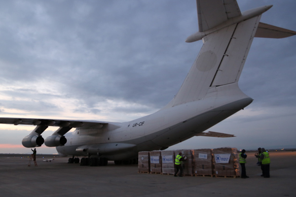 WFP Airlifts Bring Aid To Most Vulnerable In Northeast Syria Amid Growing Challenges