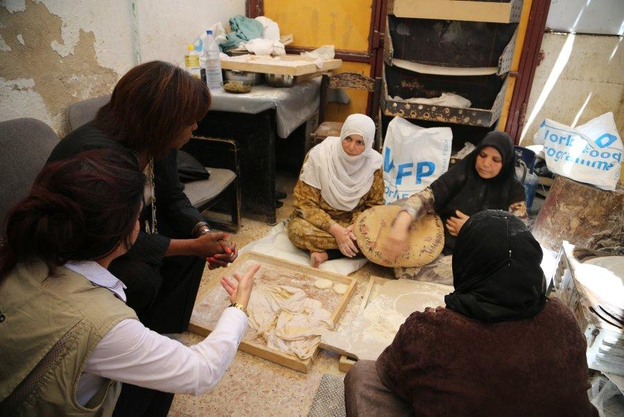 WFP Executive Director Visits Food Assistance Operation in Syria