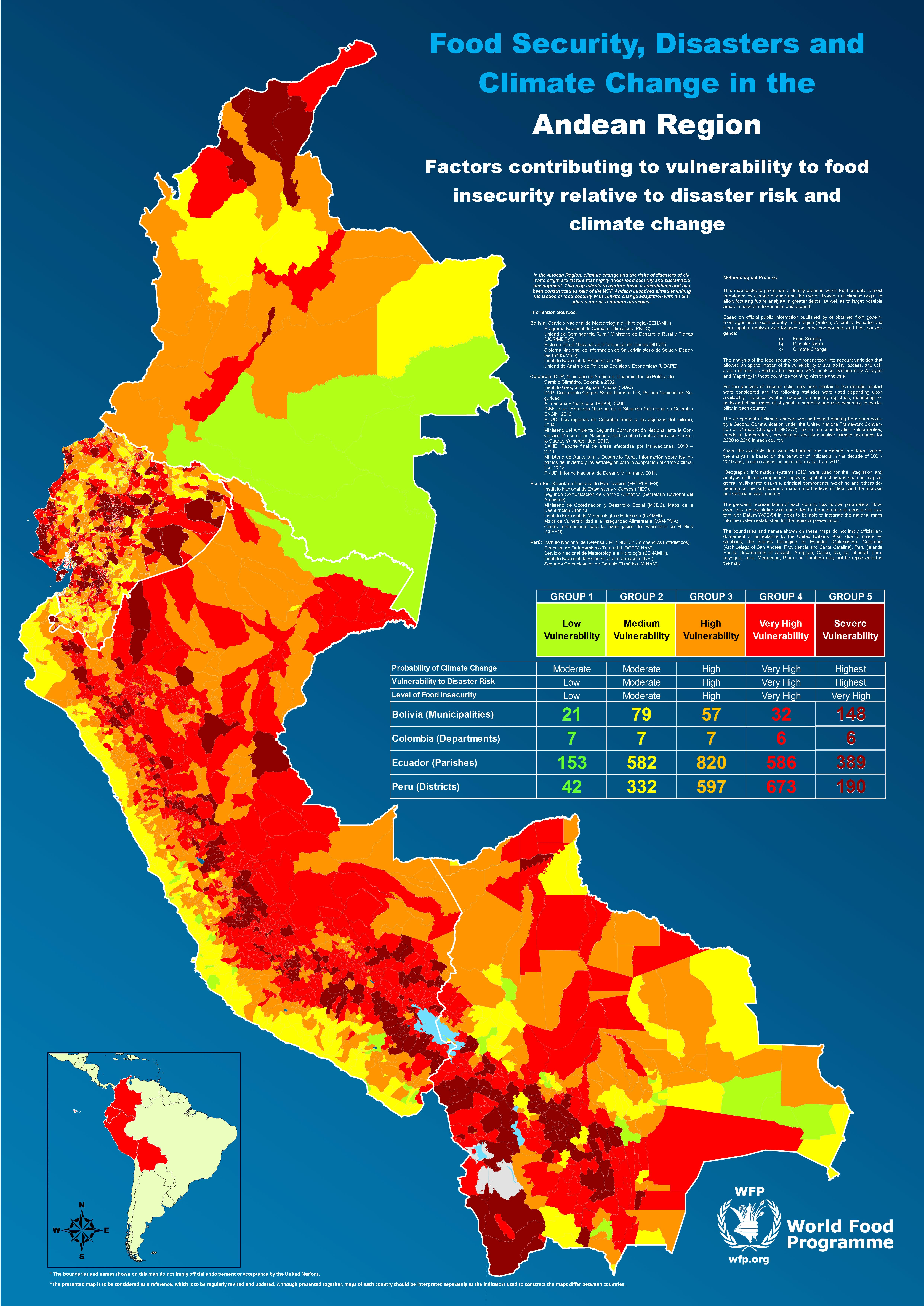 New Atlas Maps Out the Vulnerable Areas within the Andean Region