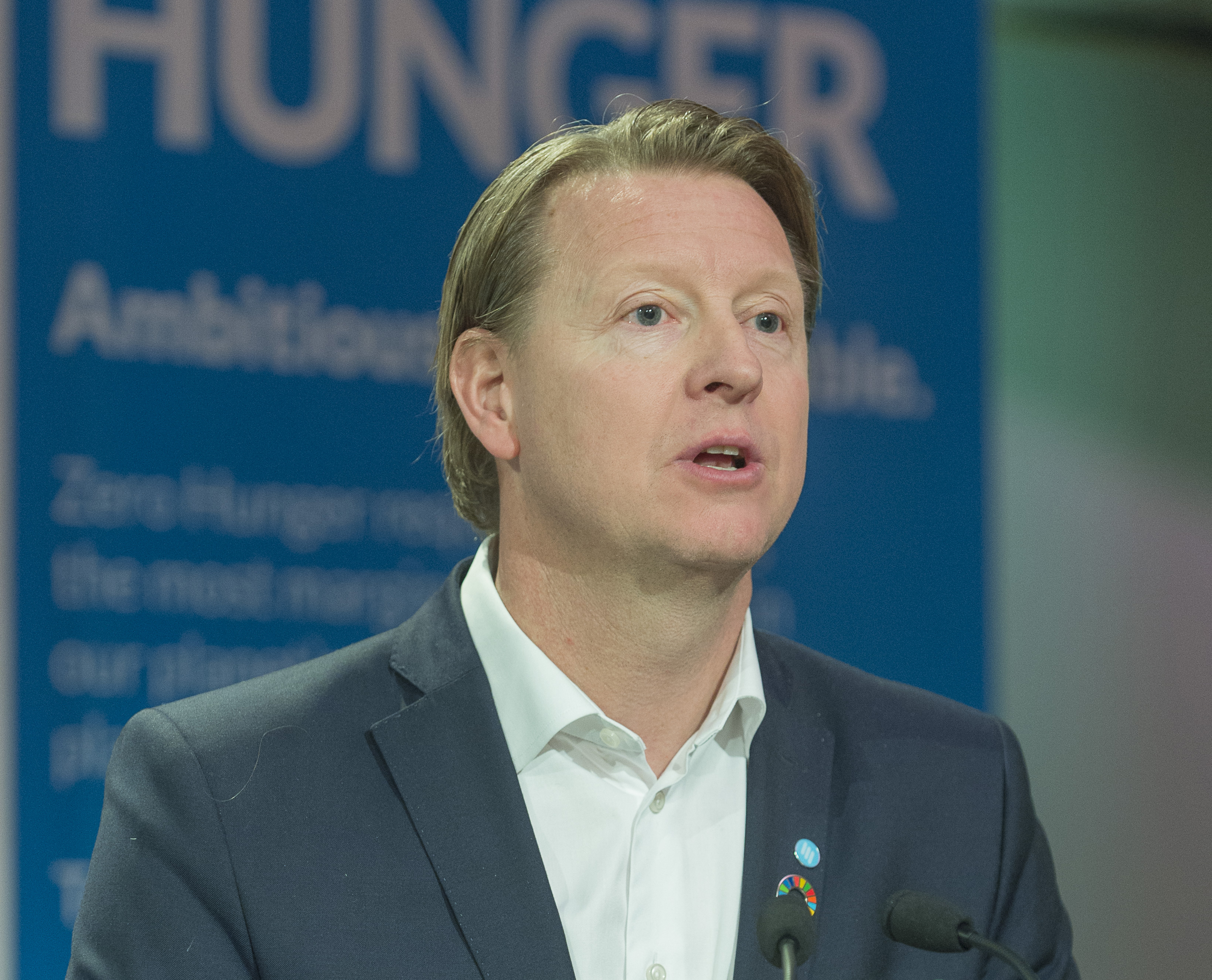 Ericsson CEO Hans Vestberg Receives WFP Hunger Hero Award