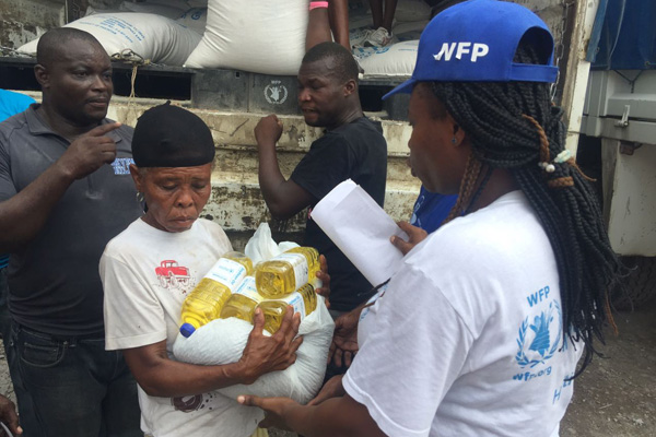 WFP Delivering Food Assistance To Survivors Of Hurricane Matthew In Haiti