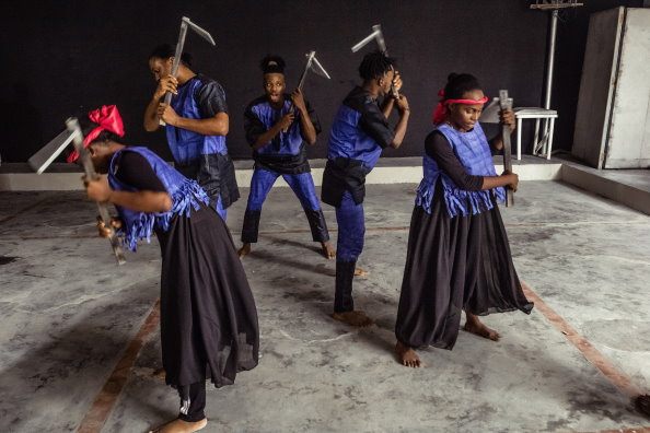 Photo: WFP/Jean-Fidele Ebenezer, 'Bintu the Musical' charts the struggles of families affected by violence and hunger.