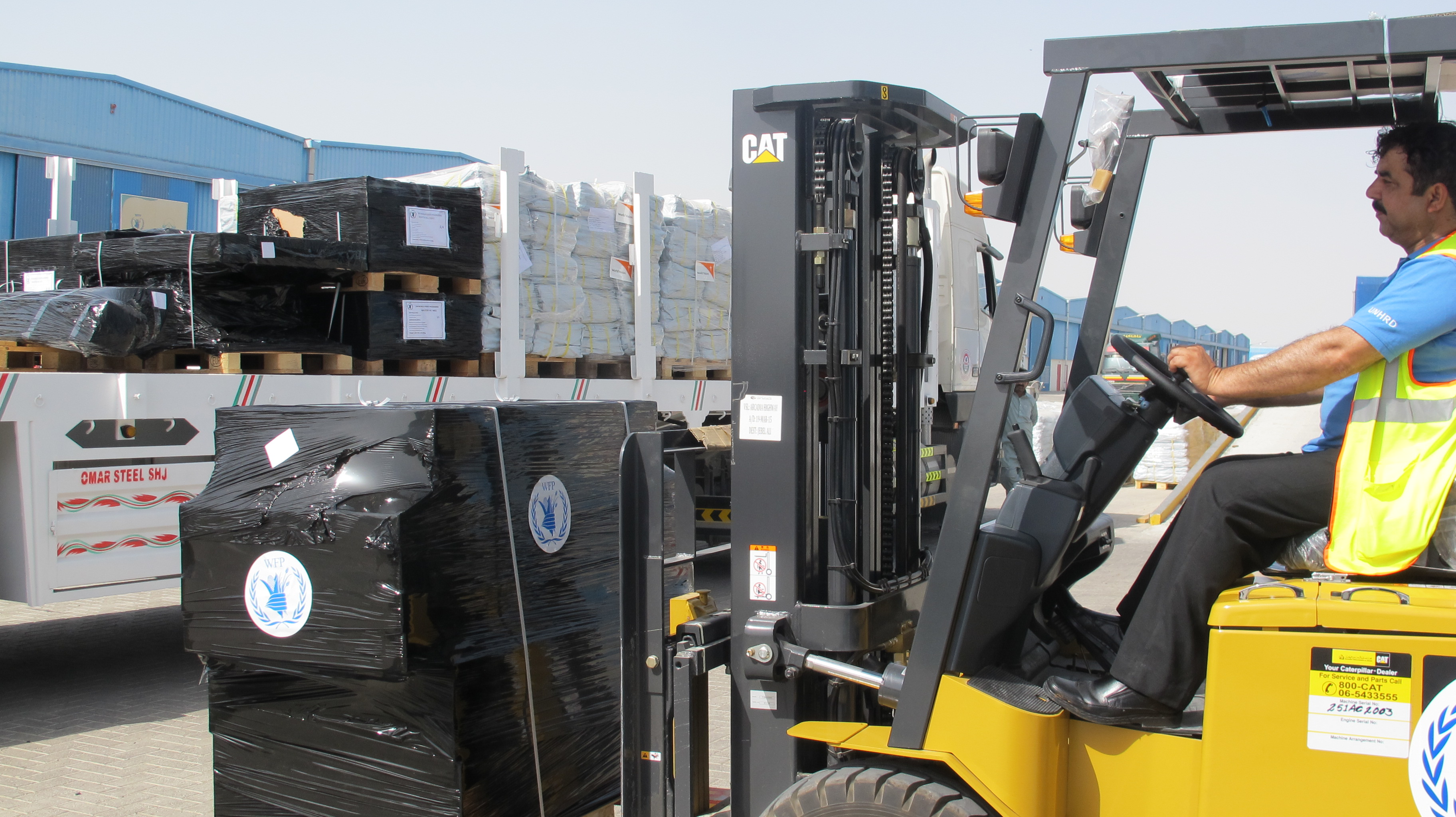 WFP Rushes Food And Relief Supplies To Nepal Earthquake Survivors