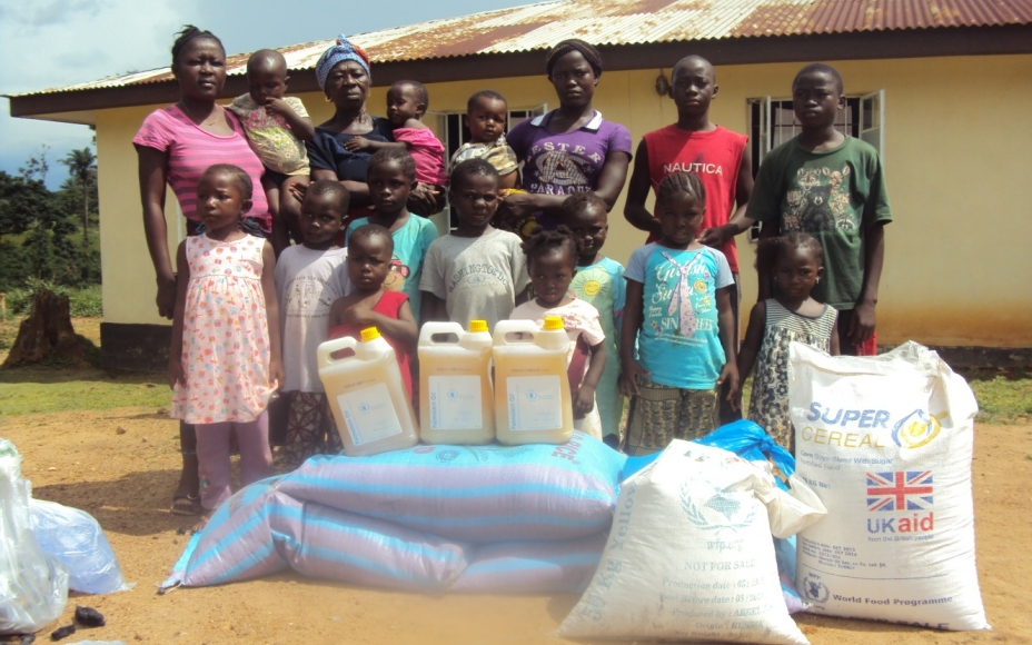 WFP Starts Biggest Food Distribution In Ebola-Hit Sierra Leone