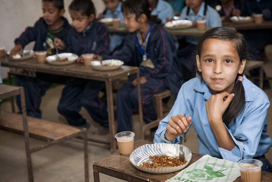 WFP Welcomes Vital Funding for School Meals from US Department of Agriculture