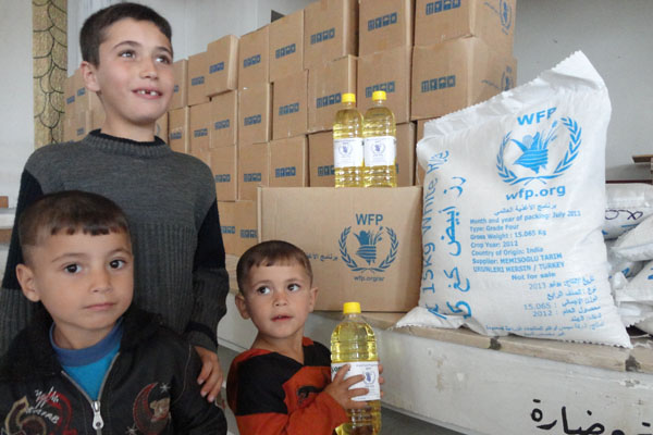 WFP Restores Full Rations To Syrian People Thanks To Unprecedented Donor Support