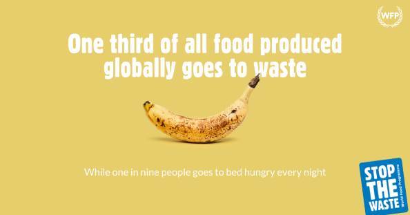 The United Nations World Food Programme Launches A Global Movement To Help Fight Food Waste World Food Programme