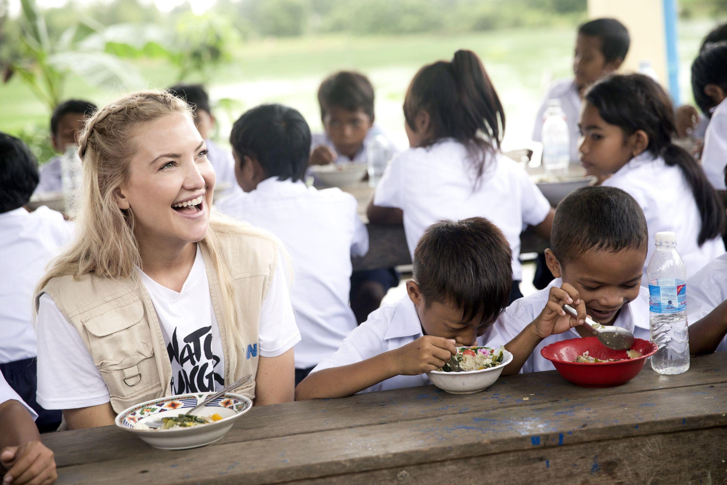 Kate Hudson Named Goodwill Ambassador For The United Nations World Food Programme World Food Programme