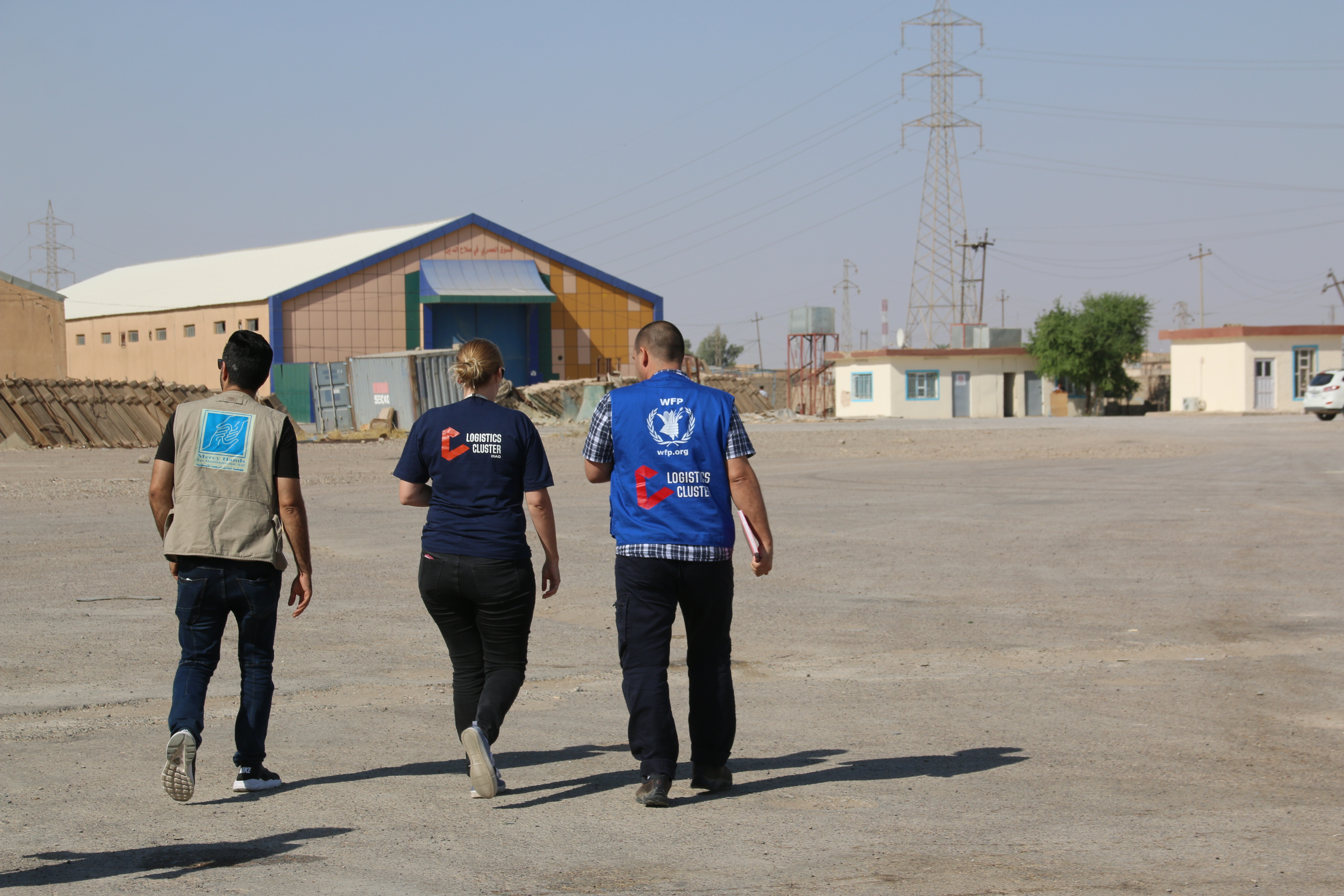 Iraq Humanitarian Fund Keeps WFP Logistics Services Moving