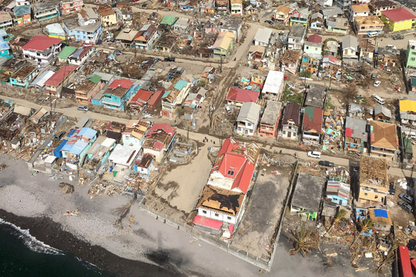 WFP Providing Food, Logistics And Telecoms Support To Hurricane-Hit Island Of Dominica