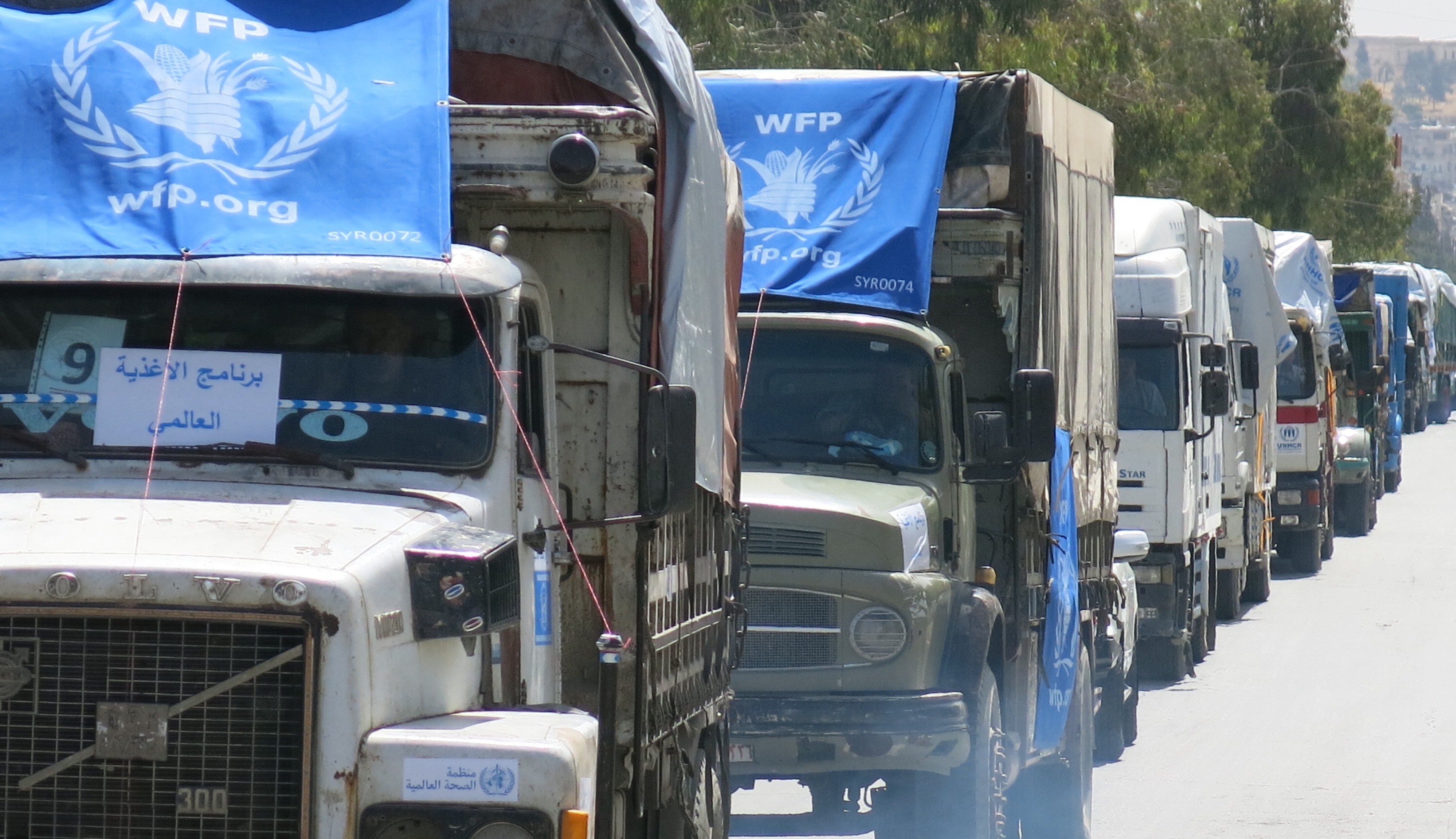 WFP Halts Airdrops To Syria's Deir Ezzor City As Land Corridor Opens
