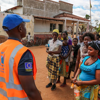 WFP Operations in Mozambique