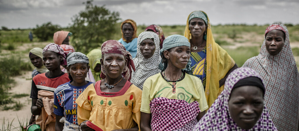 Women in the Sahel region