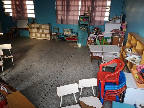 Empty classrooms Venezuela