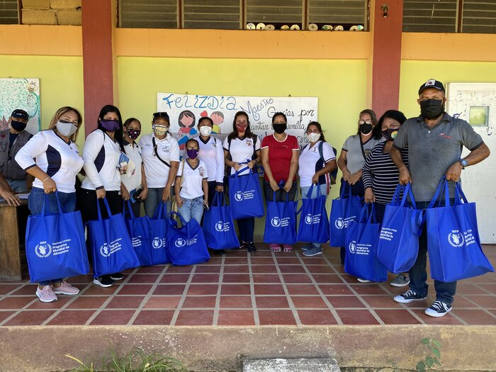 WFP beneficiaries