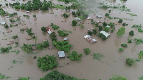 Cyclone response takes shape in Mozambique