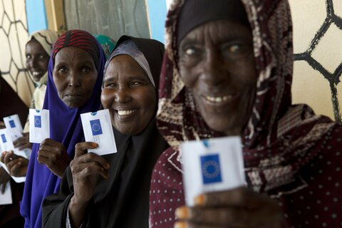 Cash provides a vital lifeline in Somalia