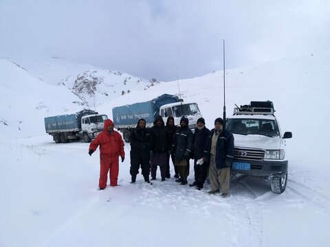 Afghanistan: World Food Programme wheels roll to save lives in the winter