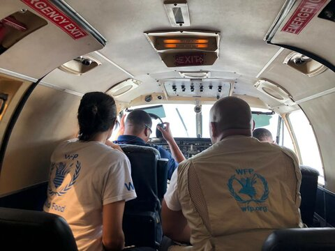 WFP lends expertise before and after Hurricane Dorian