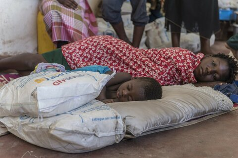 Working round the clock to save lives in the wake of cyclone Idai