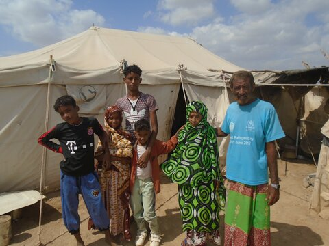 Yemeni refugees describe the difference that food and cash is making