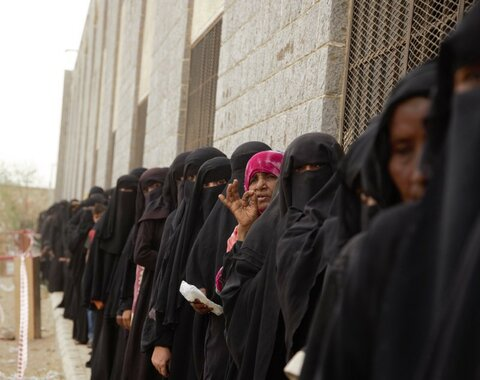 This is what it takes to feed more than 8 million people a month in Yemen