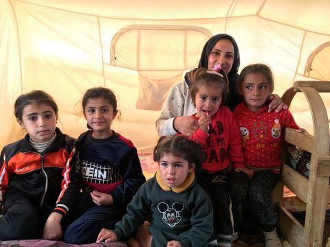 One family's 30-hour walk from Syria into Iraq's Kurdistan Region
