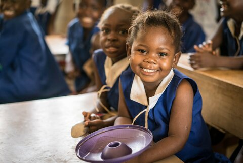 Why school lunches mean so much to Munjama and her friends