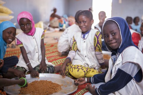 School feeding in Senegal brings the wider community into the mix