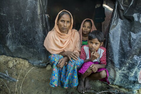 How cleaner energy can also reduce security risks to Rohingya refugees