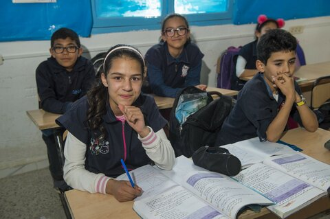 Feeding dreams in Tunisia's schools