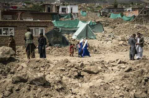 'My family was destroyed': Flash floods devastate community in Afghanistan