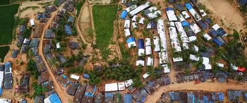 Drones take flight to help end hunger