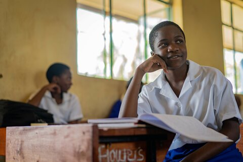 Faith in the system: Beating the odds to top marks at school in Malawi