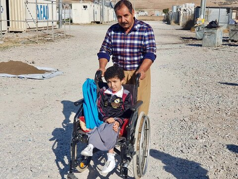 Coronavirus tests the resilience of Iraq's displaced people to the limit