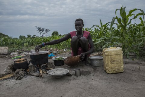 South Sudan turns seven, as seven million people go hungry
