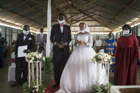 When Seme met Faith: How a refugee from South Sudan found love with an American in Uganda