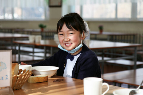 Kyrgyzstan: School meals feed one girl's dream of being a doctor