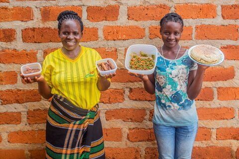 Power to the peas: new crops change lives in Zambia