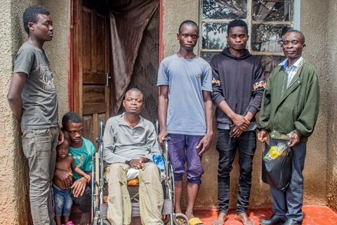 John's story: How WFP and the EU support one disabled man in Zambia