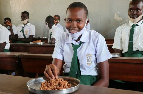 How school meals are empowering girls in South Sudan
