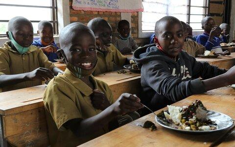 Garden to plate: How school feeding empowers children in Rwanda