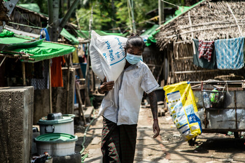 Myanmar: WFP responds as families in cities face hunger